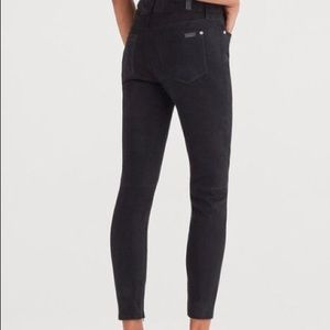 7 For All Mankind Suede Ankle Skinny